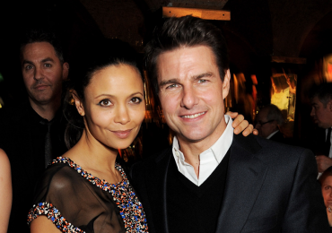 Thandie Newton y Tom Ccruise