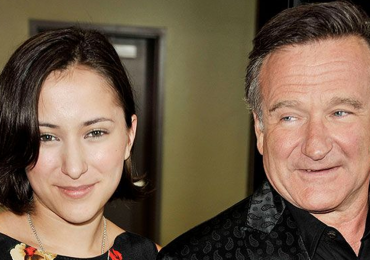 Zelda Williams y Robin Williams