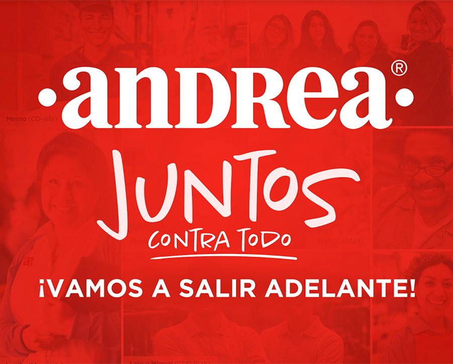 Juntos contra todo donativo Andrea