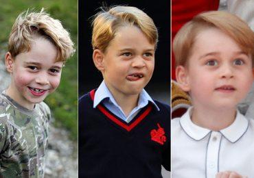 Las caritas más tiernas y graciosas del príncipe George