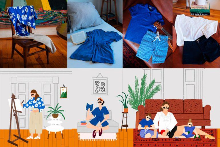 Moda para vestir en casa