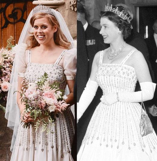 Vestido de Beatriz y de la reina Isabel