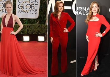 Lady in red: Amy Adams y su pasión por el rojo