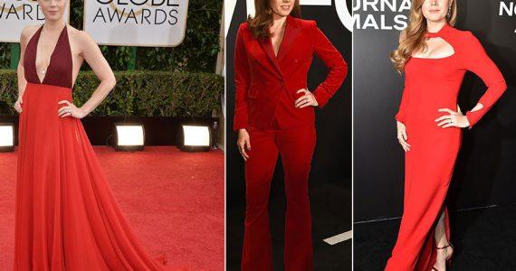 Lady in red: Amy Adams y su pasión por el rojo