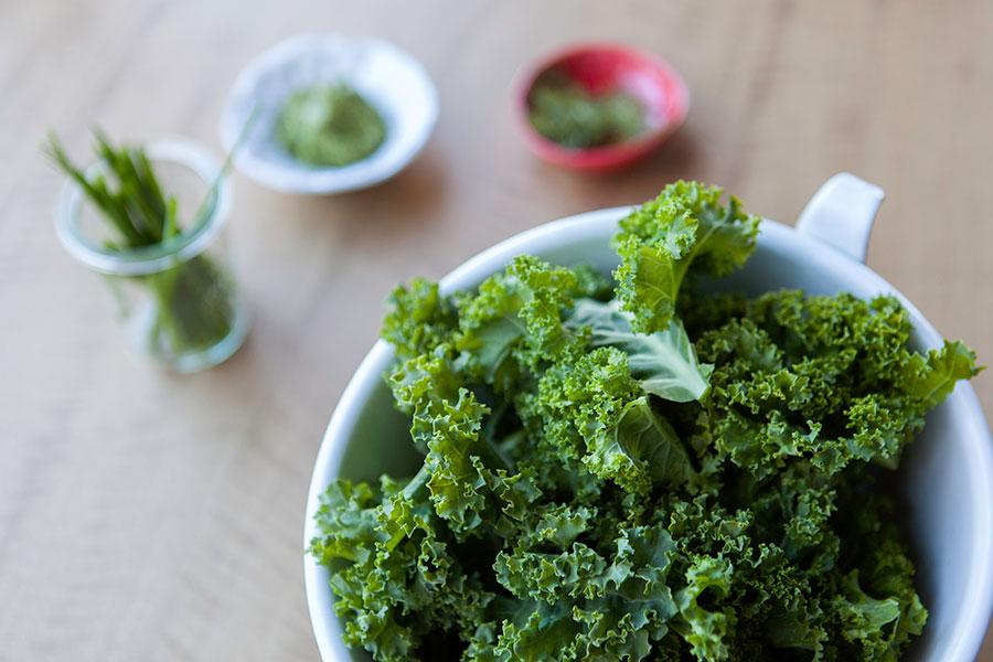 El poder de los alimentos verdes - Kale