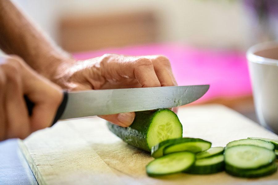 El poder de los alimentos verdes - Pepino