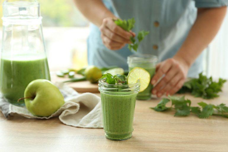 El poder de los alimentos verdes