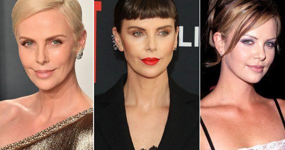 Charlize Theron y la evolución de su 'look'