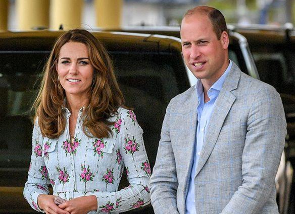 Confunden a Kate con la 'asistente' del príncipe William