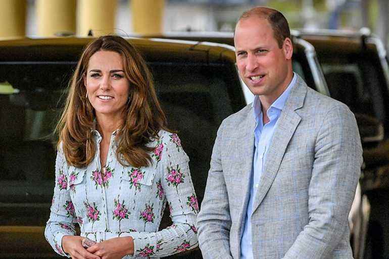 Confunden a Kate con la 'asistente' del príncipe William