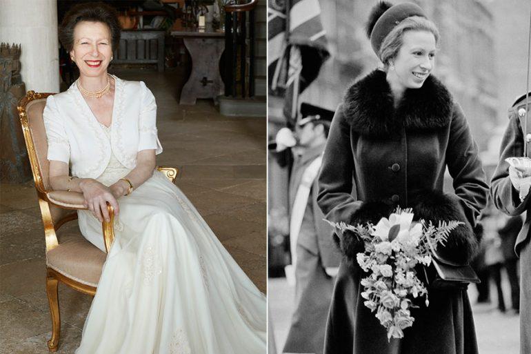 La princesa Ana cumple 70 años
