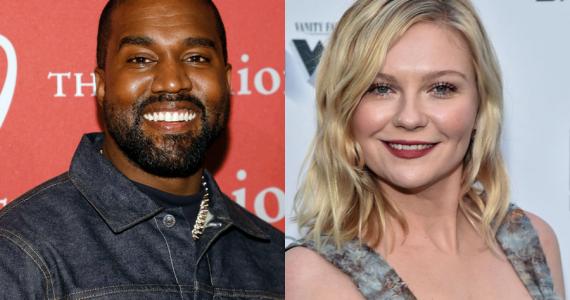 Kristen Dunst reacciona a su aparición en el póster electoral de Kanye West