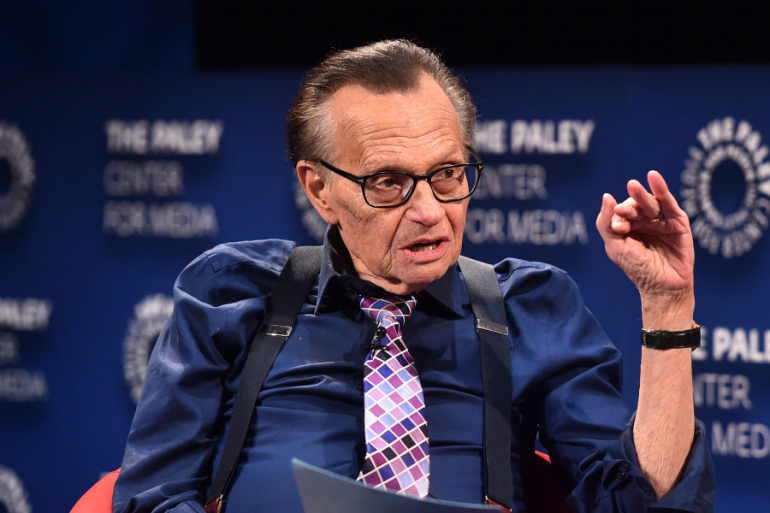 Larry King rompe su silencio tras la muerte de dos de sus hijos en las últimas tres semanas