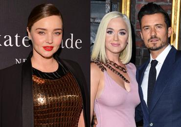 Miranda Kerr felicita a su ex Orlando Bloom y a Katy Perry por su paternidad