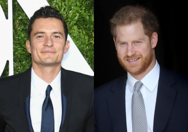 Orlando Bloom y príncipe Harry