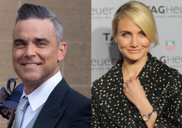 Robbie Williams estará eternamente en deuda con Cameron Diaz