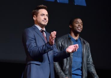 El emotivo adiós de Robert Downey Jr. a Chadwick Boseman