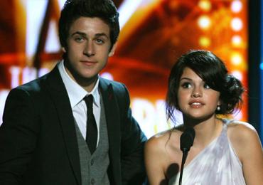 Selena Gomez y David Henrie