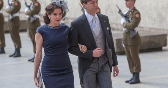 El príncipe Luis de Luxemburgo y su exesposa olvidan su complicado divorcio