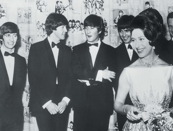 The Beatles y la princesa Margarita