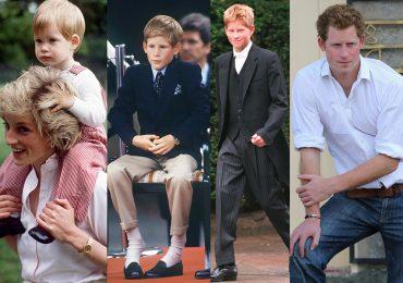 El príncipe Harry a través del tiempo