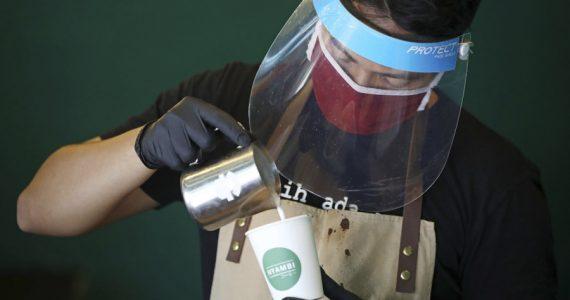 pandemia y café