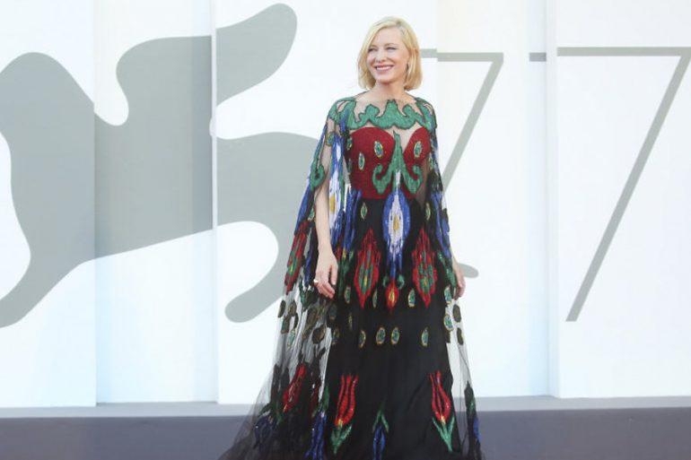 Cate Blanchett en vestido Armano