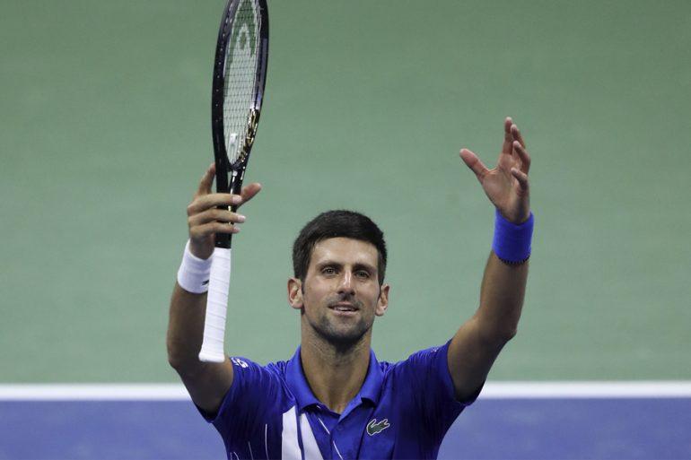 Djokovic tenista en US Open