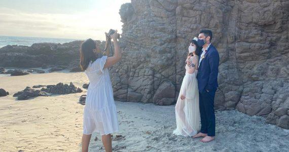 boda en playas de Rosarito