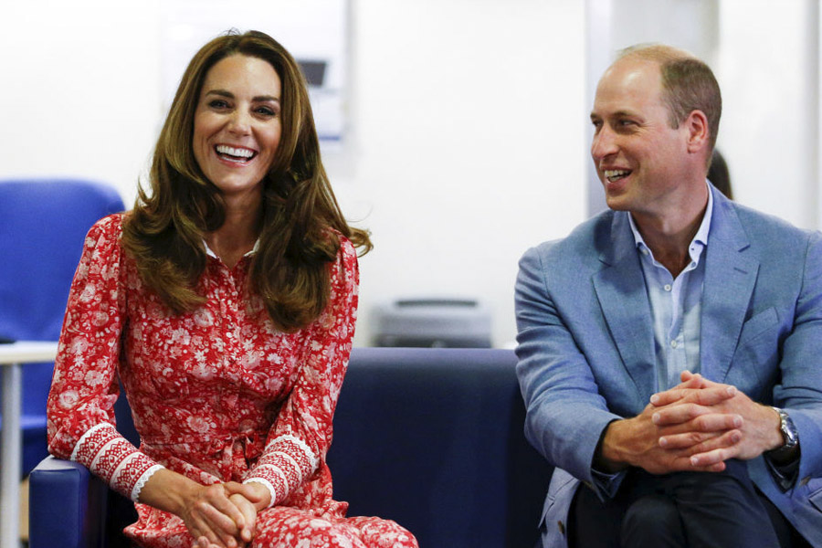 Kate y William en Londres