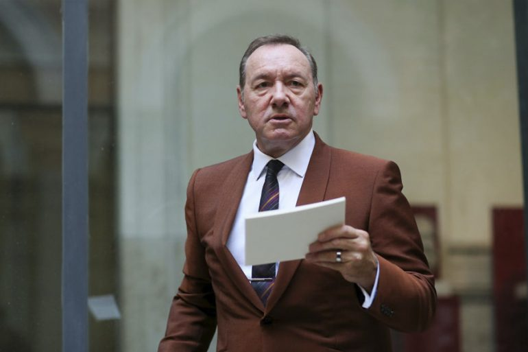 Kevin Spacey acusado de acoso sexual
