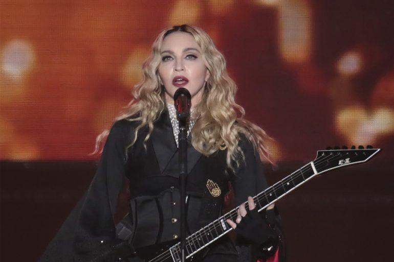 Madonna escribe su biopic