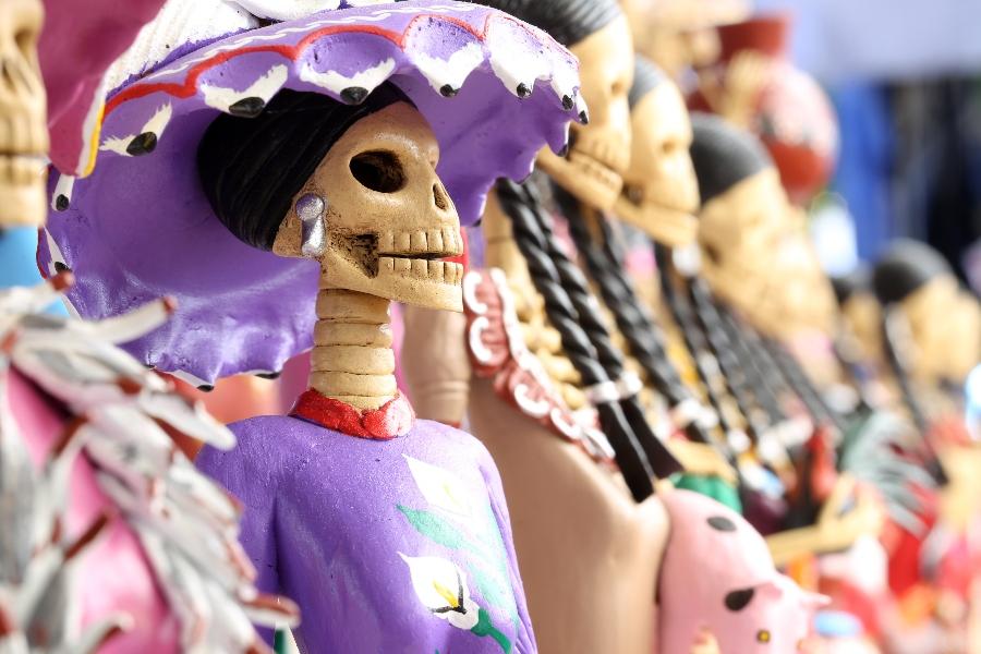 vestuario de catrina mexicana