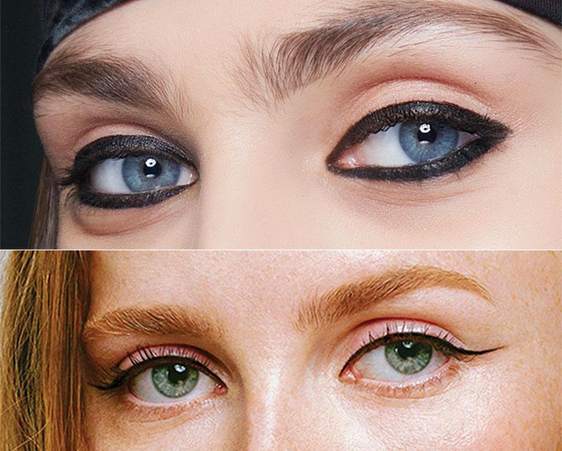 Ojos felinos - Tendencias en maquillaje otoño-invierno 2020