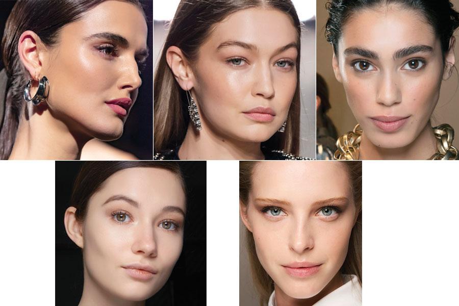 Tendencias en maquillaje otoño-invierno 2020 - Tez 'sin maquillaje'