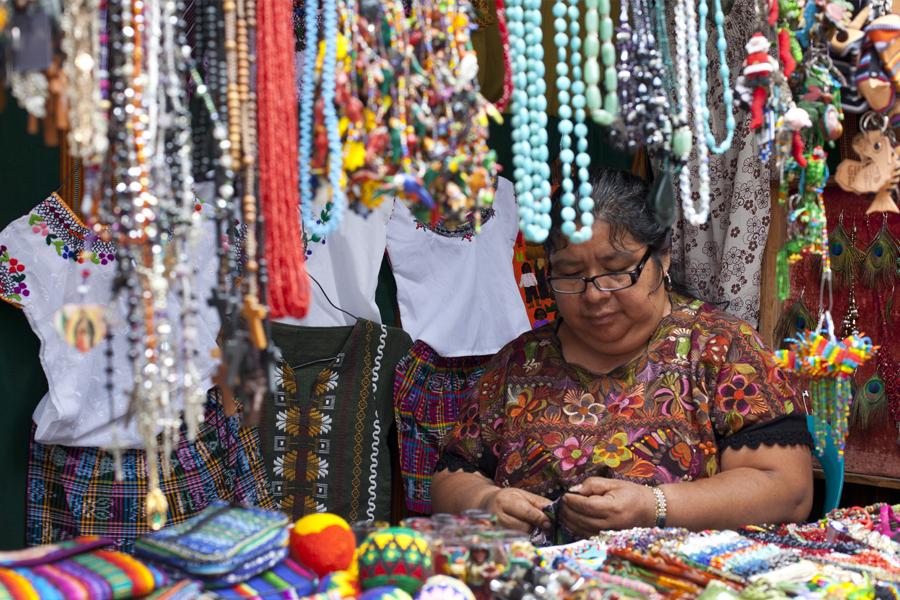 Mujer indígena de Guatemala
