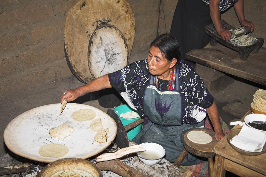 Mujer indígena de México
