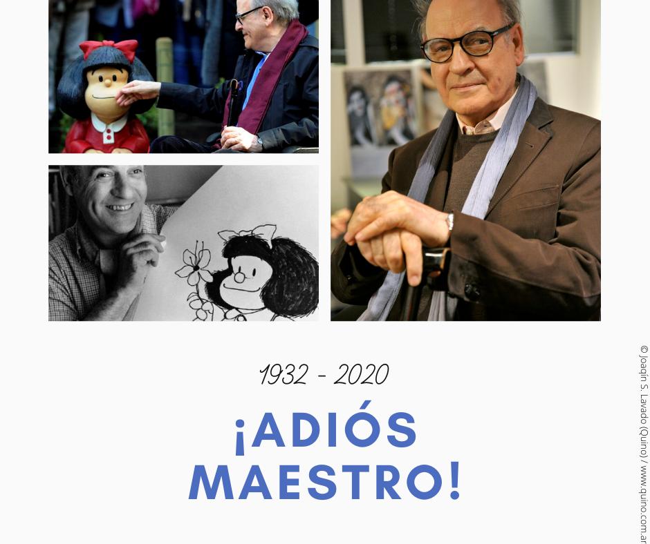 quino creador de mafalda murió 88 años
