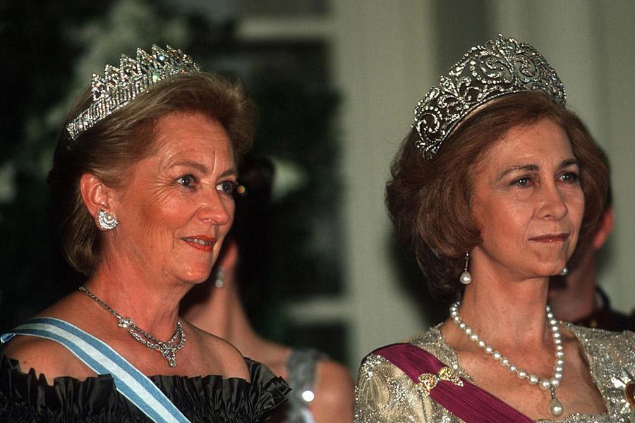 Reina Paola y Reina Sofía