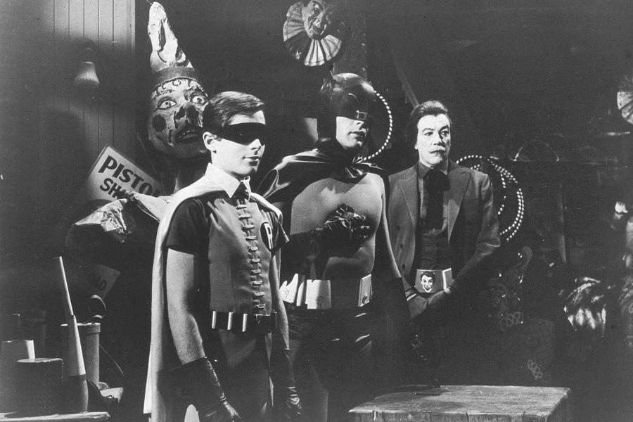 robin y batman