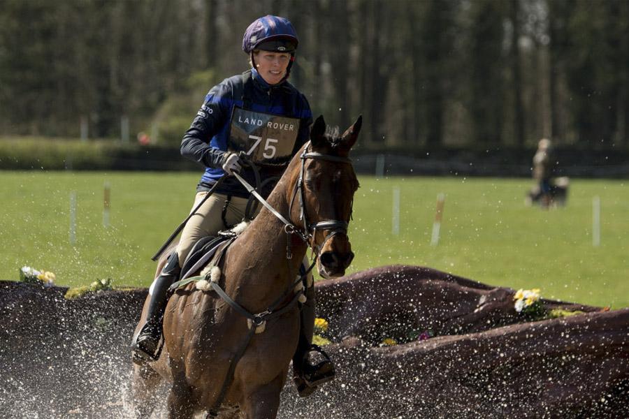 Zara Phillips equitación