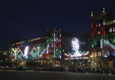 Zócalo de la Ciudad de México en Día de la Independencia