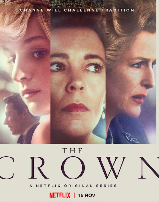 the crown netflix emma corrin cuando se estrena poster