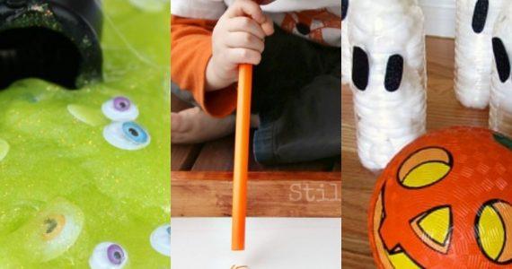 actividades de halloween para niños y bebés