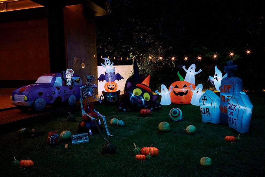 decoración Halloween y Día de Muertos