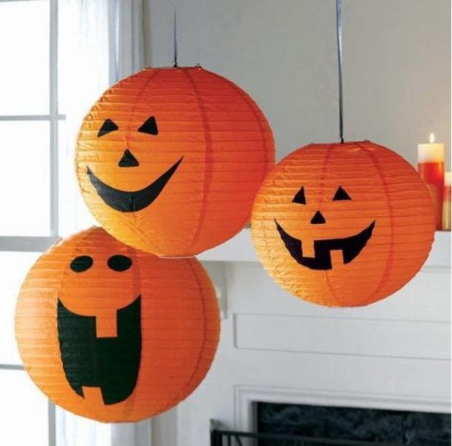 lámparas de calabaza decoracion halloween