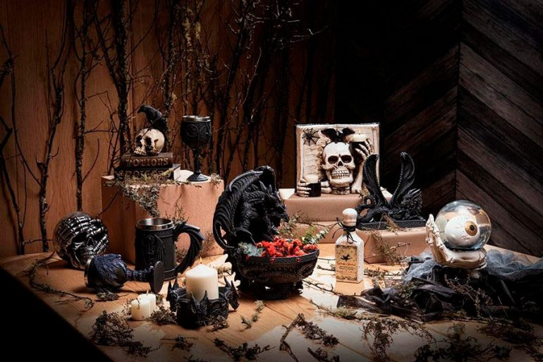Llegaron Halloween y Día de Muertos decoración