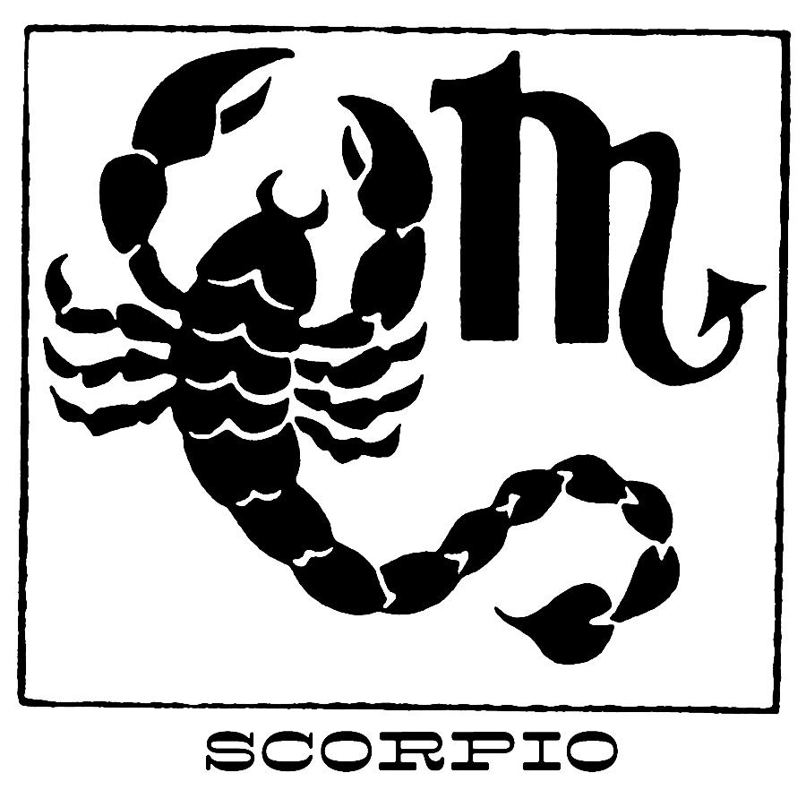 La temporada de escorpiones es del 22 de octubre al 21 de noviembre.
