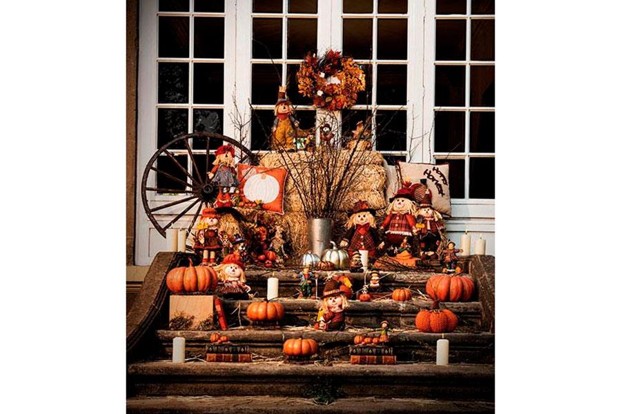 Halloween y Día de Muertos decoracion para casa