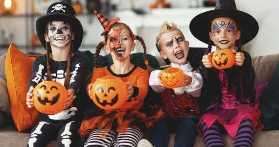 niños halloween